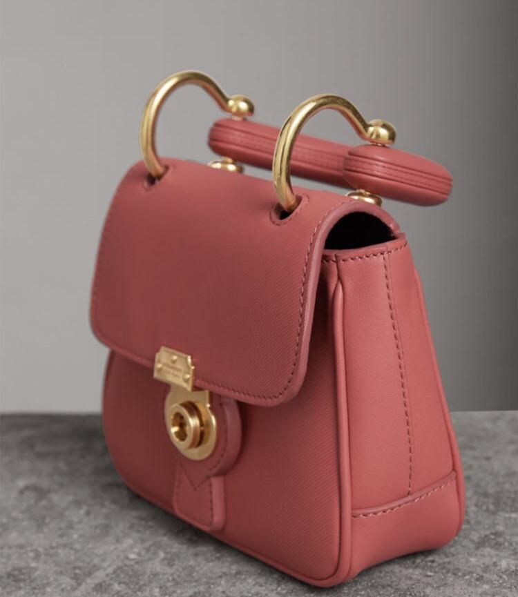 8130851b5bd9 Eye Candy  Burberry Mini Dk88 Top Handle Bag – Shweta Sood