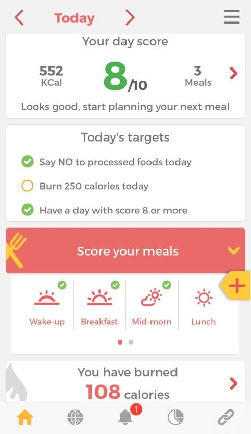 bon happetee best diet app